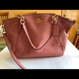 Beautiful pink Coach purse